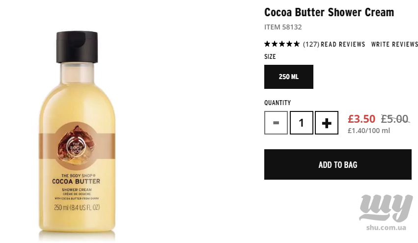 Cocoa Butter Creamy Body Wash   Bath   Bodycare  The Body Shop.png