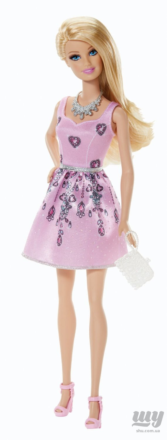Fashionista Barbie Doll, Light Pink Dress.jpg