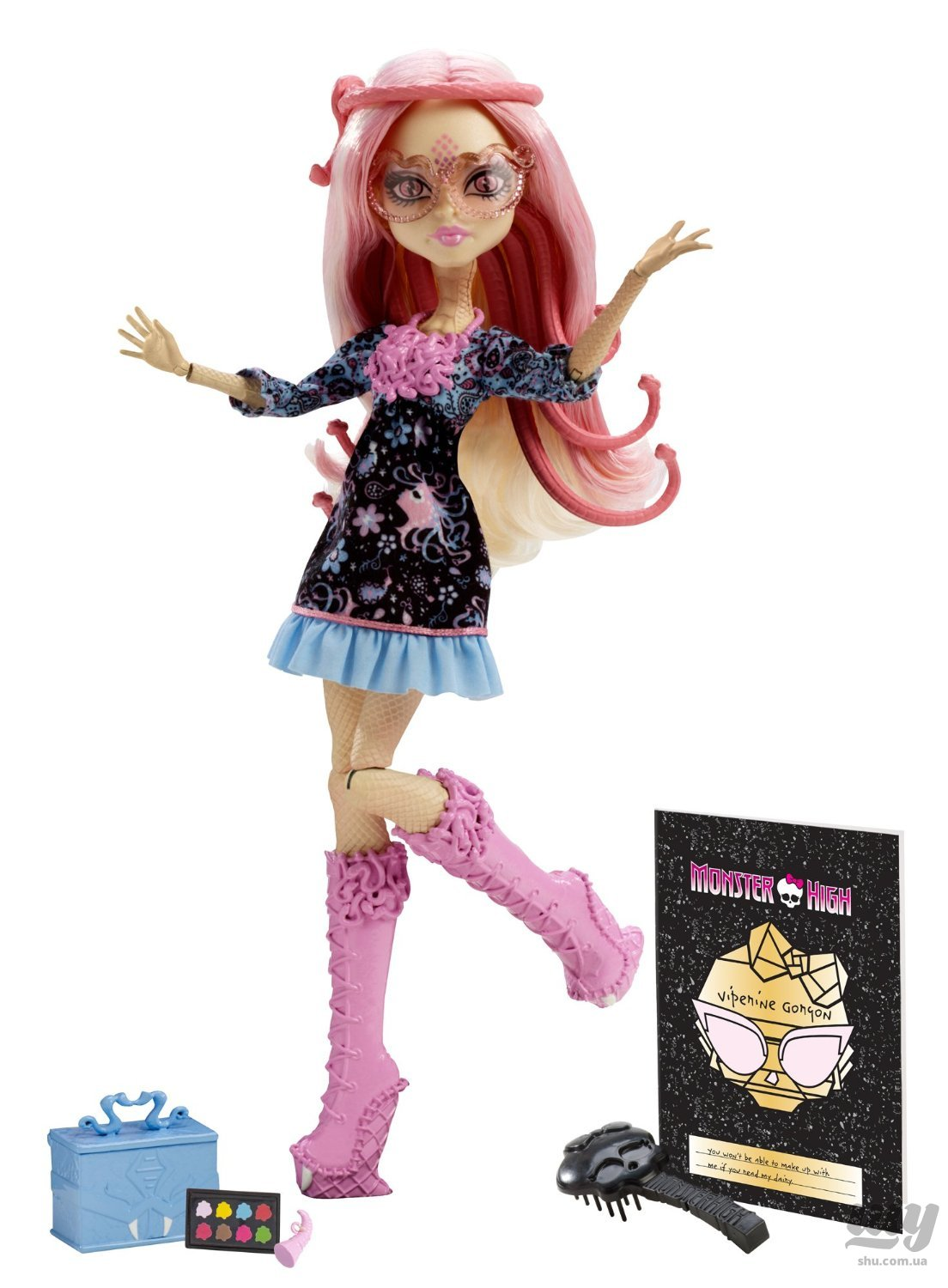 Monster High Frights, Camera, Action! Viperine Gorgon Doll.jpg